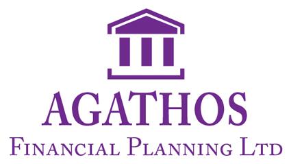Agathos Financial Logo In Purple