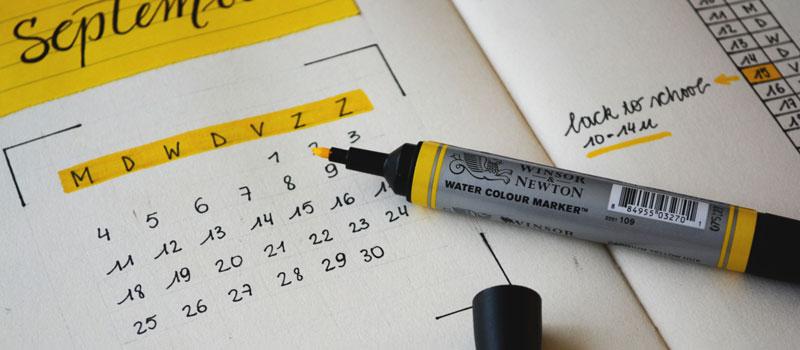 Calendar Colour